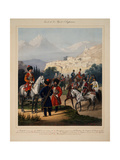 Convoy of His Imperial Highness, 1867 Giclee Print by Karl Karlovich Piratsky