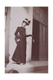Misia Natanson in Cannes Giclee Print by Édouard Vuillard