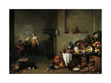 Christ in the House of Martha and Mary Giclee Print by Pieter De Bloot