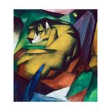 Le tigre, 1912 Impression giclée par Franz Marc