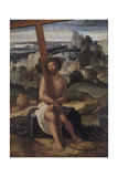 The Man of Sorrows Giclee Print by Adriaen Isenbrant