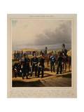 Pioneers of the Imperial Guards Corps, 1867 Giclee Print by Karl Karlovich Piratsky