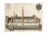 The Circus Maximus (From the Atlas Van Loo) Giclee Print by Joan Blaeu