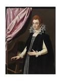 Portrait of Marie De Médici (1575-164) Giclée-tryk af Scipione Pulzone