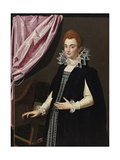 Portrait of Marie De Médici (1575-164) Giclee Print by Scipione Pulzone