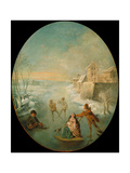 Winter Giclee Print by Jean-Baptiste Pater