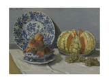 Still-Life with Melon Giclee Print by Claude Monet