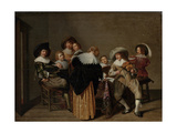 A Musical Party Giclee Print by Dirck Hals