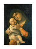 The Virgin and Child, 1490-1495 Lámina giclée por Andrea Mantegna