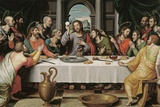 The Last Supper Giclee Print by Juan De juanes