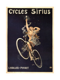 Cycles Sirius, 1899 Giclee Print by Henri Gray