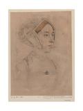Anne Boleyn Giclee Print by Hans Holbein
