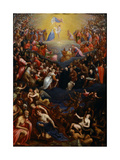 The Last Judgment Giclee Print by Leandro Bassano