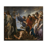 The Brazen Serpent Giclee Print by Sir Anthony Van Dyck