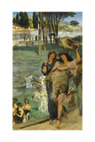 A Spring Festival (On the Road to the Temple of Cere) Giclee Print by Lawrence Alma-Tadema