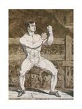 Daniel Mendoza Giclee Print by James Gillray