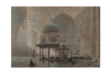 Interior of the Mosque-Madrassa of Sultan Hassan in Cairo Giclee Print by Edward Goodall