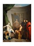 Apelles Painting Campaspe Giclee Print by Nicolas Vleughels