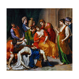 The Death of Cleopatra Giclee Print by Alessandro Turchi