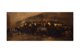 Evening at Square Giclee Print by George Hendrik Breitner