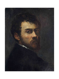 Self-Portrait as a Young Man Giclee Print by Jacopo Tintoretto