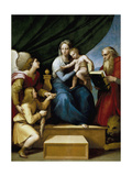 Madonna with the Fish Giclee Print by  Raphael