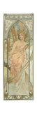 The Times of the Day: Morning Awakening Giclee Print by Alphonse Mucha