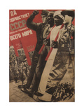 Long Live the USSR, 1931 Giclee Print by Gustav Klutsis