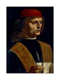 Portrait of a Musician Giclee Print by  Leonardo da Vinci
