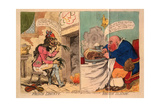 French Liberty, British Slavery, 1792 Giclee Print by James Gillray
