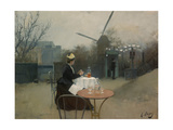 Plein Air Giclee Print by Ramon Casas