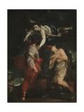 The Sacrifice of Abraham Giclée-tryk af Giuseppe Maria Crespi