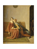 Paolo and Francesca Giclee Print by Jean-Auguste-Dominique Ingres