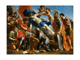 Venus Pouring a Balm on the Wound of Aeneas Giclee Print by Giovanni Francesco Romanelli