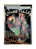 Loïe Fuller as Salomé, 1895 Giclee Print by Georges de Feure