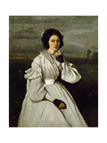 Portrait of Claire Sennegon Giclee Print by Jean-Baptiste Camille Corot