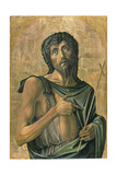 Saint John the Baptist Giclee Print by Alvise Vivarini