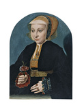Portrait of a Lady Giclee Print by Bartholomaeus Bruyn