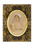 Portrait of Jane Austen (1775-181) Giclee Print by James Andrews