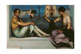 Fortune-Telling Giclee Print by Julio Romero de Torres