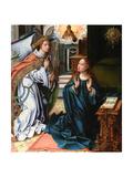 The Annunciation Giclee Print by Pieter Coecke Van Aelst the Elder