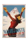 Vallée D'Aoste, 1950 Giclee Print