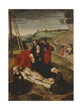 The Lamentation over Christ Giclee Print by Adriaen Isenbrant