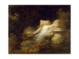 Love Pledge (The Voeu a L'Amou) Reproduction procédé giclée par Jean-Honoré Fragonard