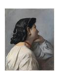 Iphigenia (Head Stud) Giclee Print by Anselm Feuerbach
