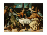 The Supper at Emmaus Giclee Print by Jacopo Tintoretto