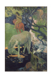 The White Horse, 1898 Giclee Print by Paul Gauguin