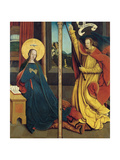 The Annunciation Giclee Print by Bernhard Strigel