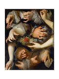 Study of Hands Giclee Print by Nicolas de Largillière