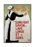 Sunlight Savon, 1910 Giclee Print by Armand Rassenfosse
